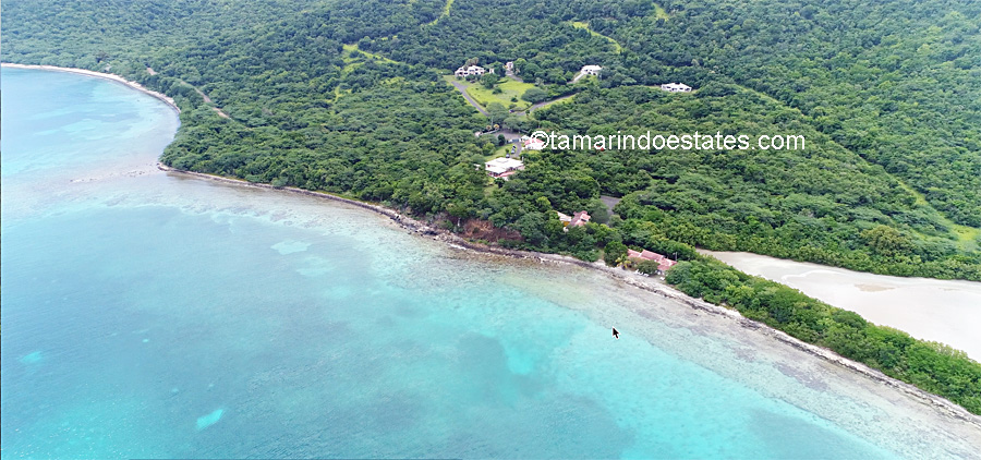Aerial view of Tamarindo Estates